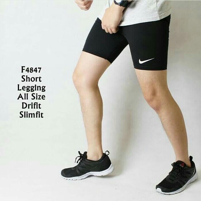Jual Lagi Murah Celana Legging Pendek Pria Wanita Gym Fitnes Sport Lari Re Jakarta Barat Elhida Store Tokopedia
