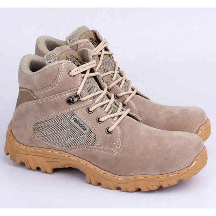 harga Sepatu gunung hiking boots pria cowok cowo boot warna krem rjm 520 rz Tokopedia.com