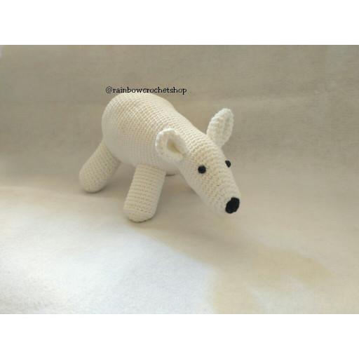 harga Boneka rajut beruang kutub (amigurumi) Tokopedia.com