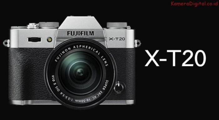 harga Kamera fujifilm x-t20 kit 18-55 Tokopedia.com