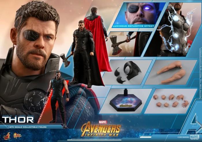 harga DP PO Hot Toys Thor Infinity War MMS 474 Tokopedia.com