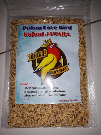 harga Pakan love bird paud Tokopedia.com