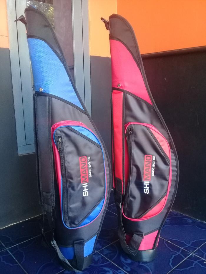 harga Tas pancing jumbo shimano viber kekar bisa berdiri untuk 3 joran Tokopedia.com