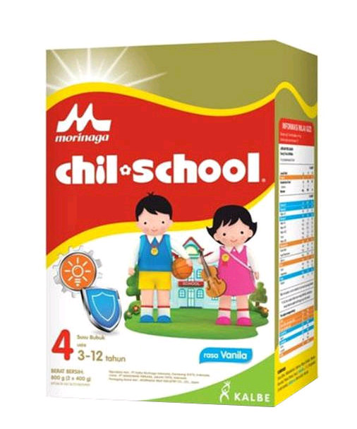 harga Morinaga chilschool 4 vanila / straw / coklat 800 gram... (gosend) Tokopedia.com