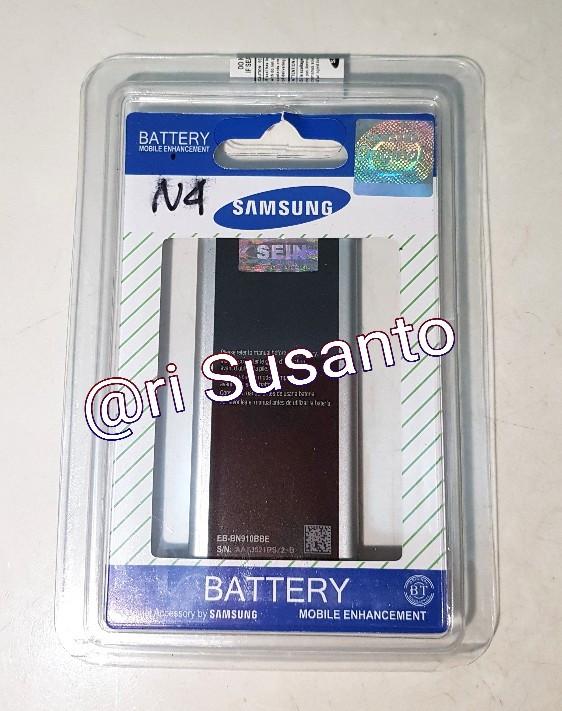 Baterai Samsung Galaxy Note 4 SM-N910H (Kualitas Original 100%)