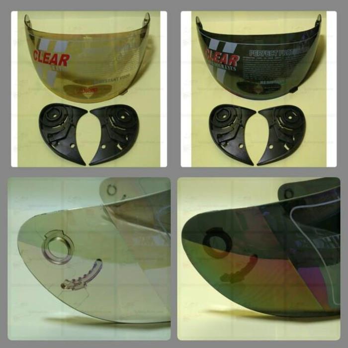 harga Kaca helm / visor helm / visor helm bcm/ mds /gm /kyt/ ink /trx Tokopedia.com