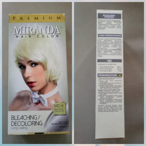 Jual Miranda Hair Color Bleaching Ukuran Besar Kota Sukabumi Nyj Shop Tokopedia