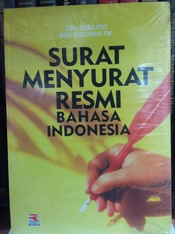 Jual Surat Menyurat Resmi Bahasa Indonesia Dki Jakarta Mangun Store Tokopedia