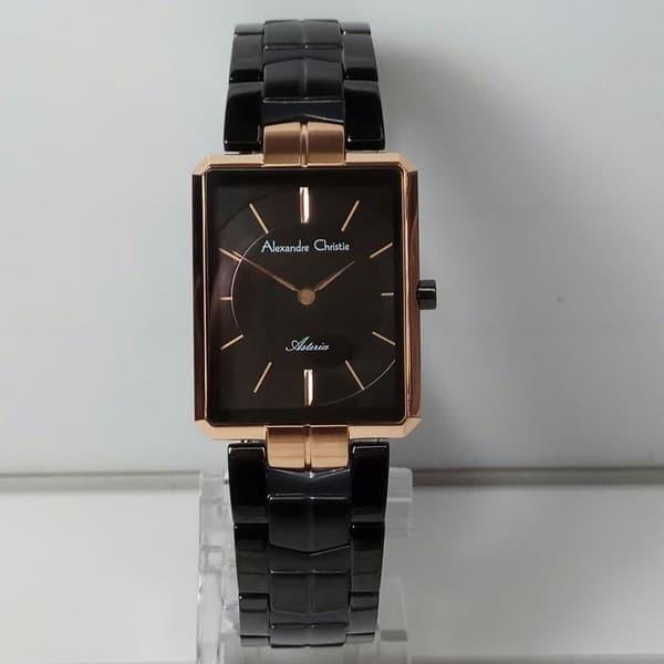 Jual jam tangan alexandre christie ac 8551 wanita black gold ... 7950192c39