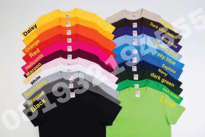 Foto Produk NSA XXL Kaos Polos IMPORT New State Apparel persis GILDAN softstyle dari importir jersey