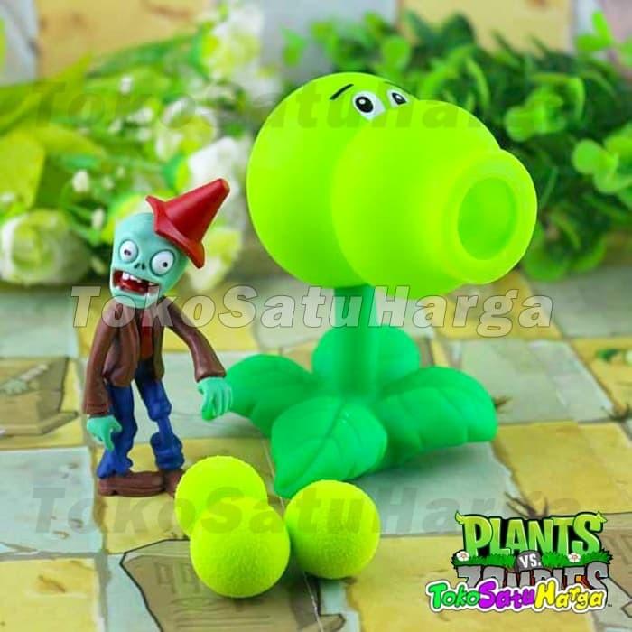 harga Mainan anak plant vs zombie tembak plants zombies double shooter Tokopedia.com