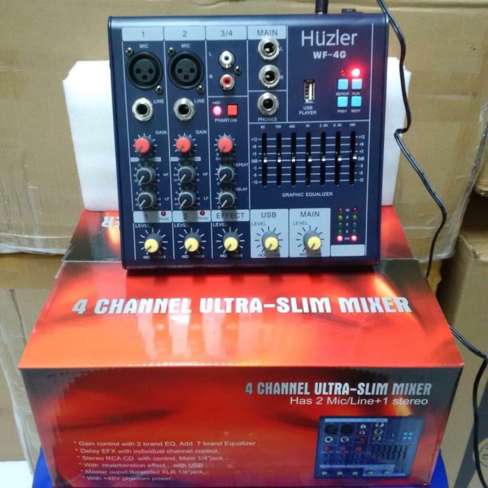 harga Audio mixer huzler wf 4g Tokopedia.com