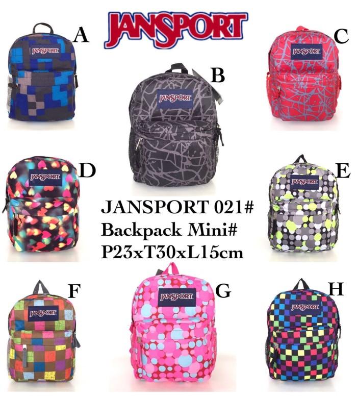 Jual Tas Ransel Jansport 021 Mini Super  1110c22592