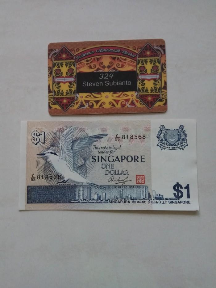 harga Uang kuno singapore 1 dollar bird series th 1976 Tokopedia.com