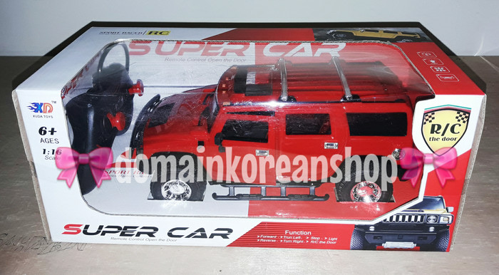 RC Super Car Hummer JEEP The Door Skala 16 skala 1 :16- 3688-
