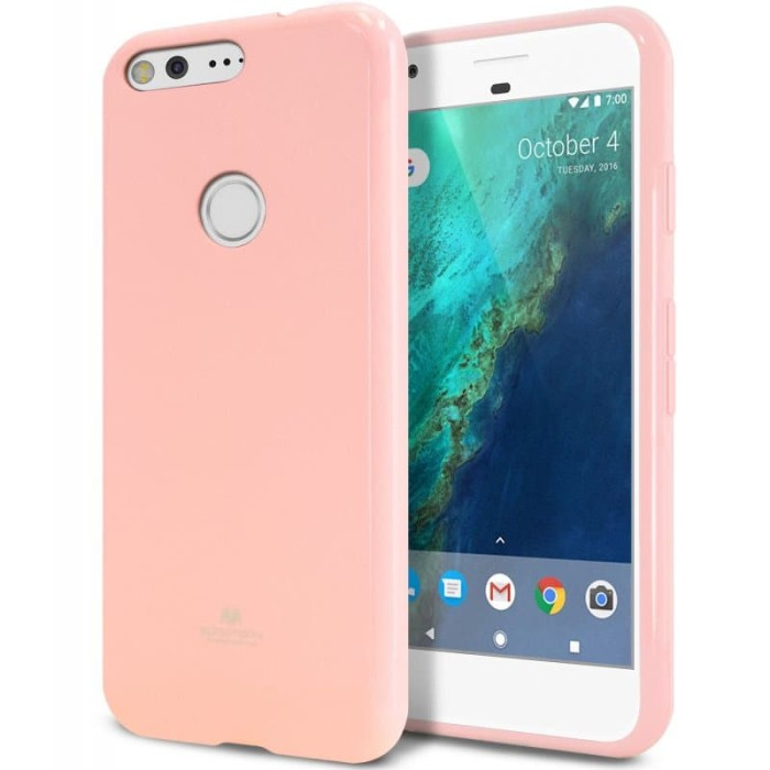 goospery oppo a83 pearl jelly case - pink