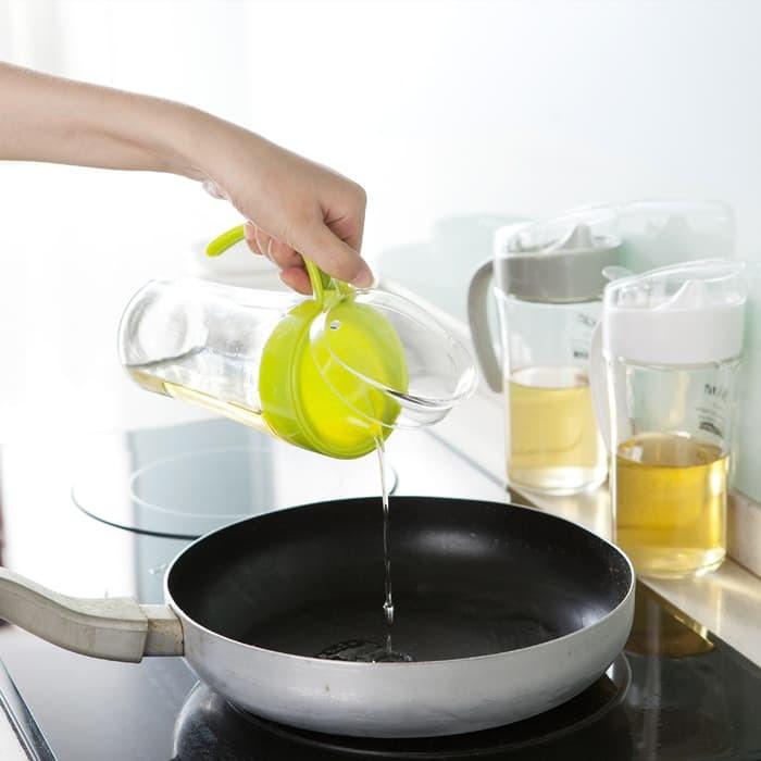 harga Baru - tempat minyak goreng kaca 620ml termurah Tokopedia.com