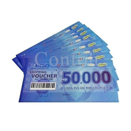 harga Voucher hero 50k Tokopedia.com