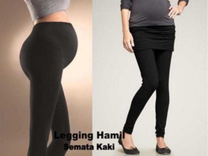 Jual Celana Legging Hitam Untuk Wanita Ibu Hamil Pregnancy Murah Jakarta Barat Toko Ada Tokopedia