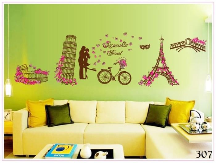 jual wall sticker / wall stiker / wallsticker / dinding 307 romantic