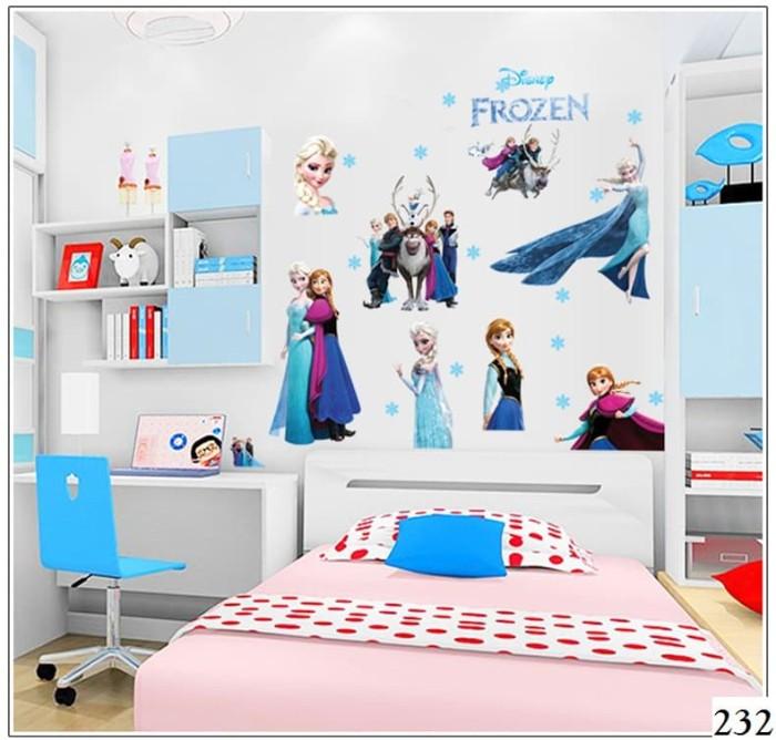 jual wall sticker / wall stiker / wallsticker / dinding 232 frozen