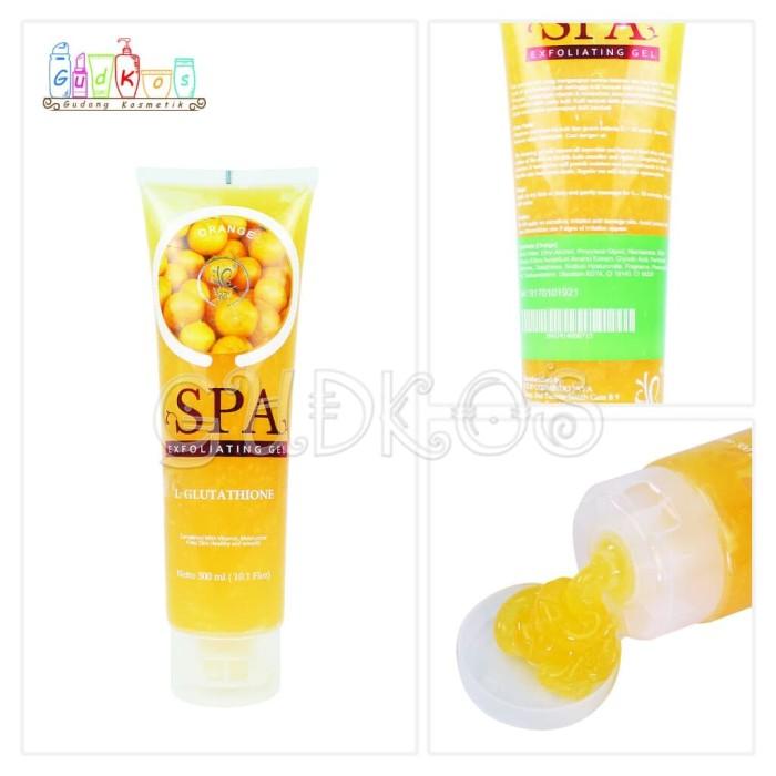 SYB Spa Gel/ SYB Body Spa Exfoliating Gel BPOM Original 100%