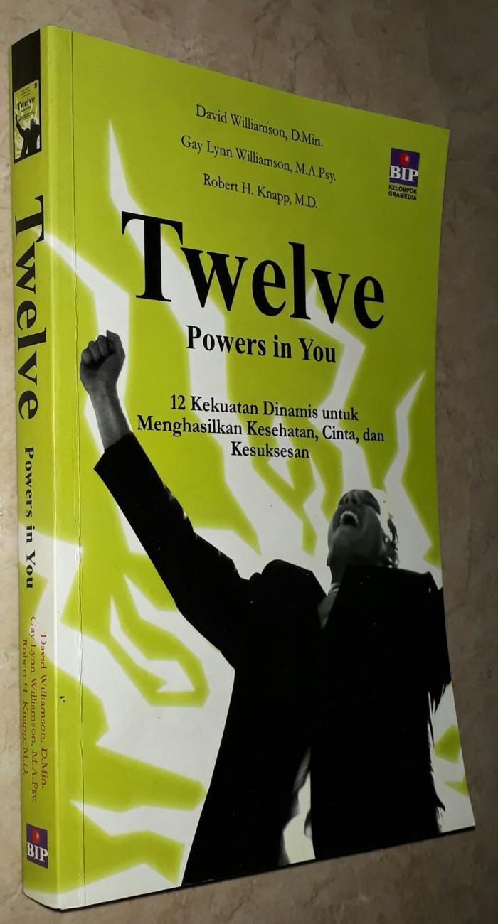 Jual Twelve Powers In You David Williamson Gay Lynn Robert H Knapp Kota Tangerang Selatan Mars 2ndbooks Tokopedia
