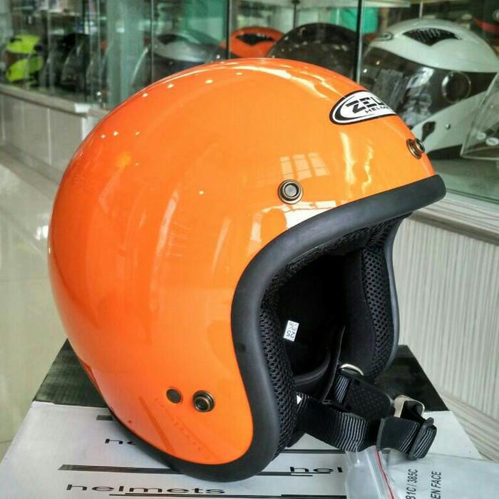 harga Helm zeus z385 retro orange Tokopedia.com
