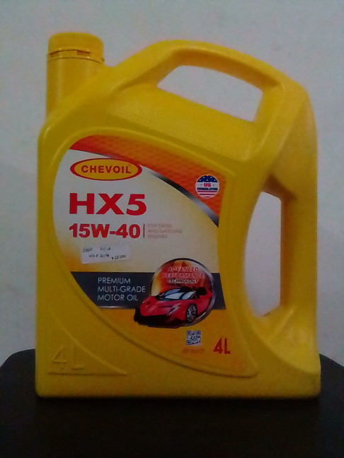 Oli Mesin Mobil ChevOil Hx5 15W 40 4 Liter