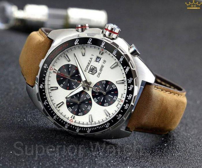 harga Jam tangan pria tag heuer formula 1 calibre 16 silver white premium Tokopedia.com