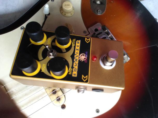 harga Equalizer pedal efek gitar n bass bypass logam eq Tokopedia.com
