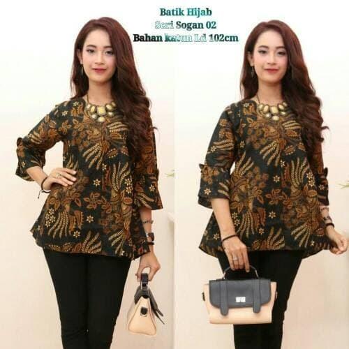 Jual Model Baju Batik Atasan Wanita Terbaru Centini Kota Tegal Vie Batik Distro Tokopedia
