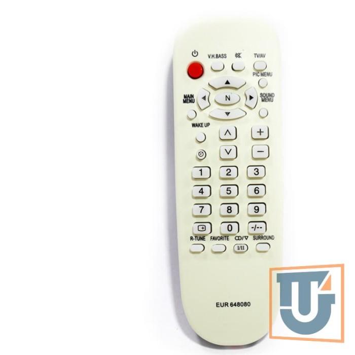 Remote TV Panasonic Putih Tabung Bukan LED LCD Multi Universal