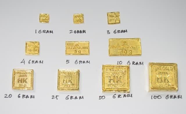 Jual Emas Batangan Hk 9999 Logam Mulia Emas 24k 20 Gram Emas