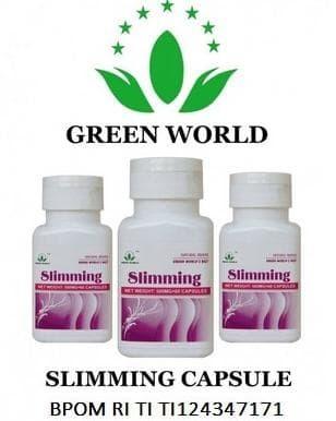 Jual Jual Obat Kurus Obat Diet Pelangsing Slimming Capsule Green