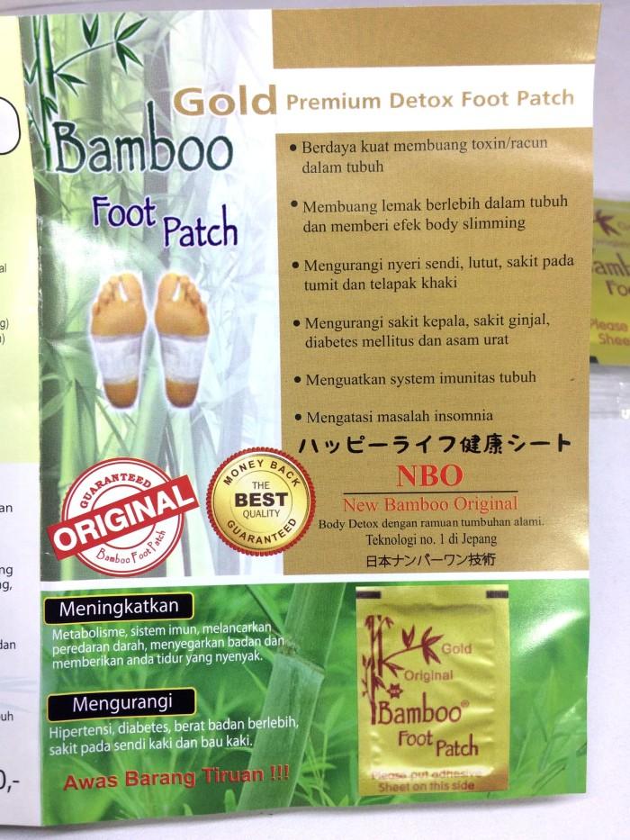 Koyo Kaki Bamboo Gold Premium Original - Stiker Polos