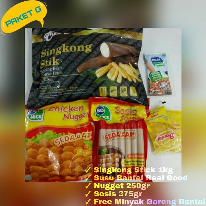 Jual Paket Promo G Makanan Frozen Food Sosis Nugget Nuget Kota