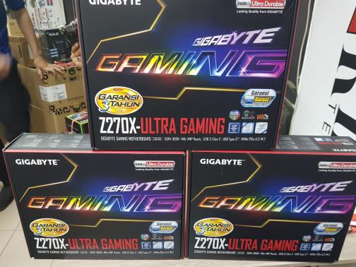 harga Gigabyte z270x-ultra gaming (lga 1151z270ddr4) Tokopedia.com