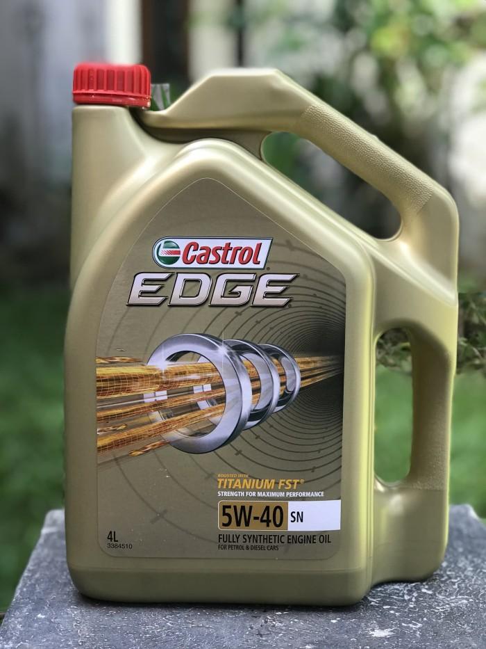 Oli Castrol Edge Sae 5w 40 Galon 4 Liter