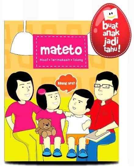 harga Mateto (maaf - terima kasih - tolong) boardbook/kado anak/kado buku Tokopedia.com