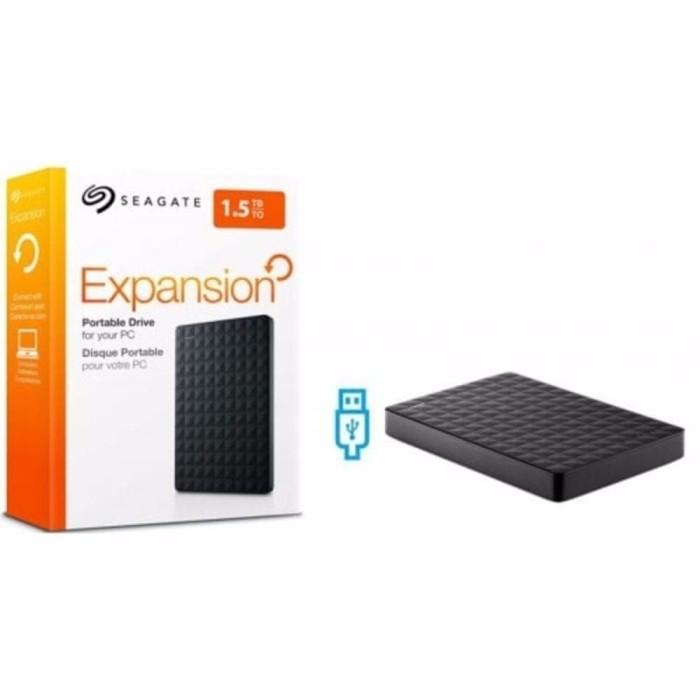 Seagate Expansion 1 5TB HDD HD Hardisk Eksternal External 2 5 BEST H