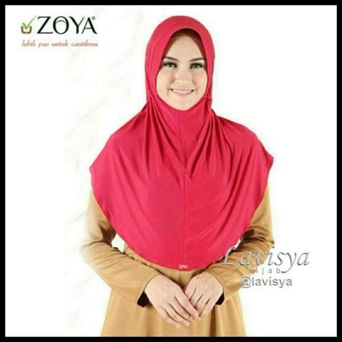 Jual Sale Hijab Zoya Husna Casual Kerudung Bergo Jilbab Instan Jakarta Barat Avina Fashion Tokopedia