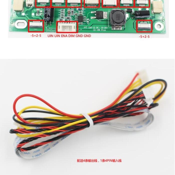 harga Inverter universal led tv monitor driver constant current board ca-188 Tokopedia.com