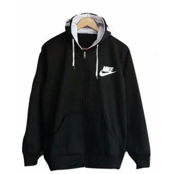 Jual Sweater Pria Nike Hodie Text Hitam - Fleece - jaket Pria Murah ... 21819fec97