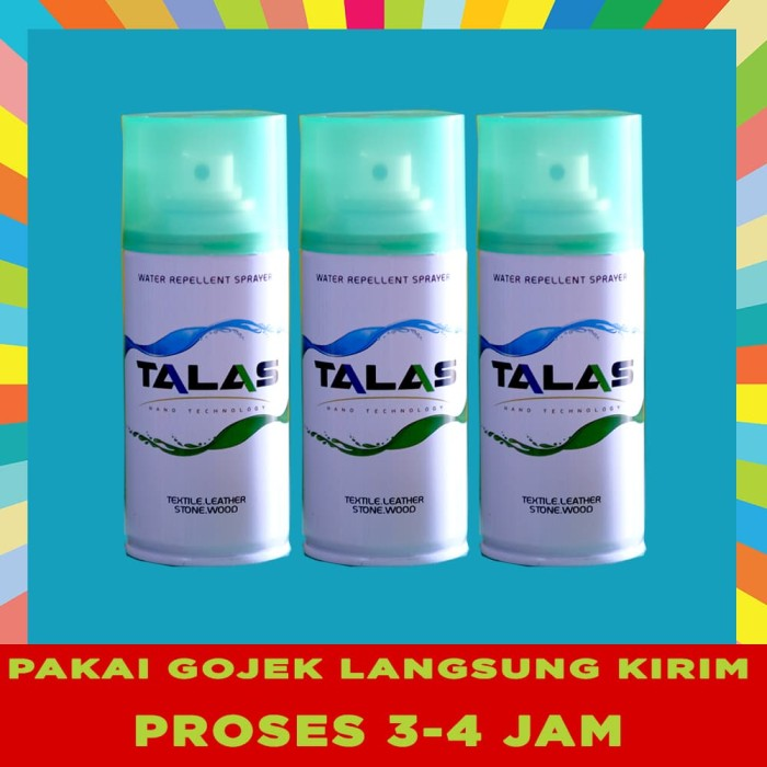 TALAS WATER REPELLENT SPRAY ANTI AIR DAN NODA - AUTHORIZED DISTRIBUTOR