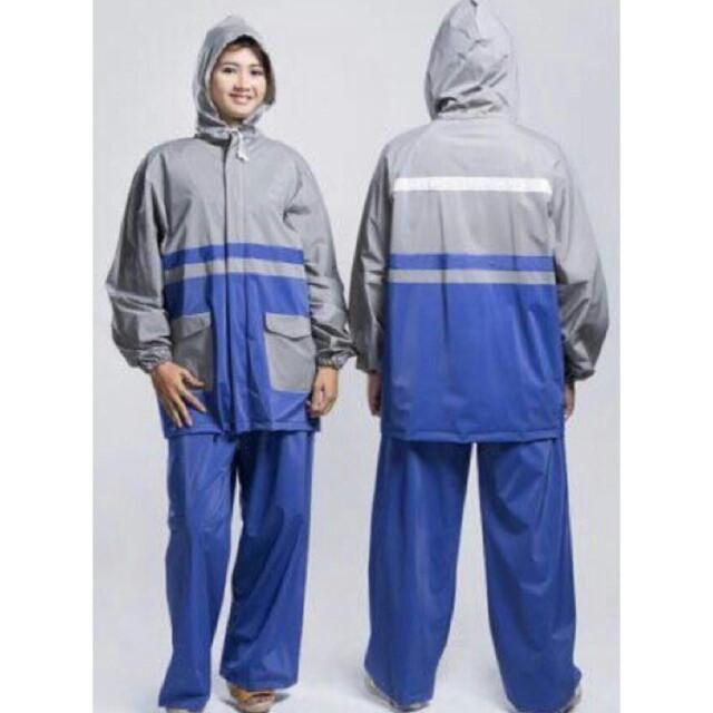 harga Jas hujan/mantol/mantel dewasa setelan celana merk twin elephant gajah Tokopedia.com