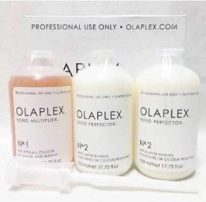 harga Salon kit olaplex (3 x 525ml+free dispenser) Tokopedia.com