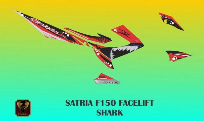 harga Sticker-striping-decal-stiker satria fu f150 facelift shark Tokopedia.com