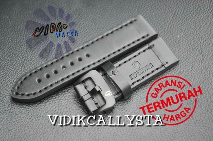 harga Strap watch / tali jam tangan expedition kulit 22 24 black Tokopedia.com