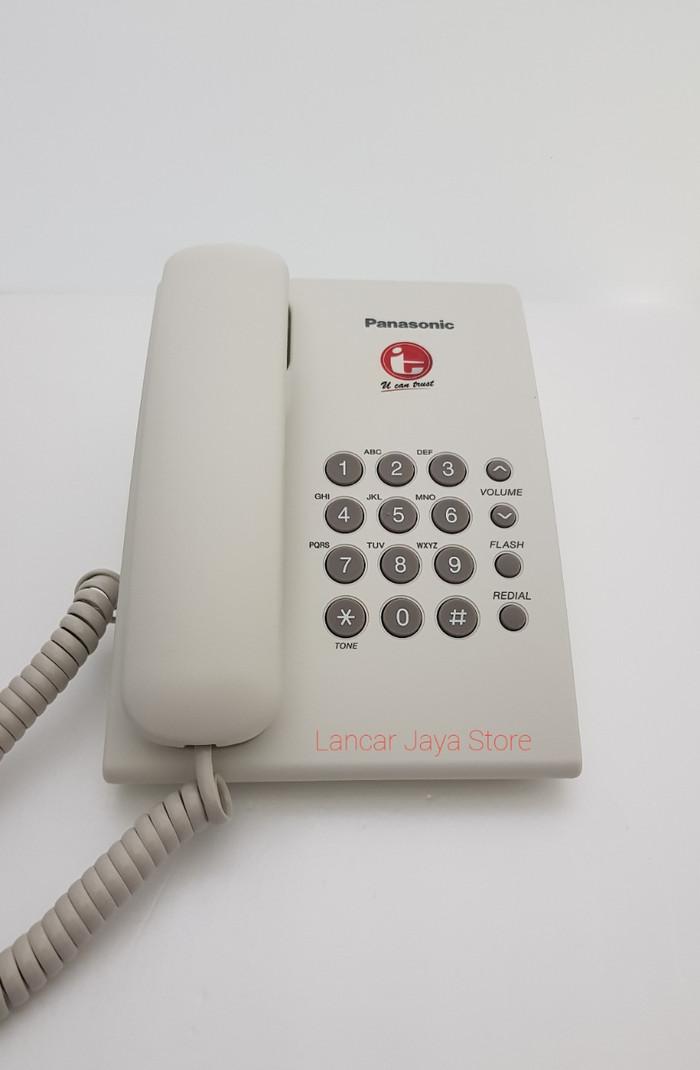 harga Telepon rumah / telepon kabel / telepon kantor panasonic kx-ts505 w Tokopedia.com